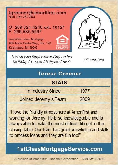 About Teresa Greener